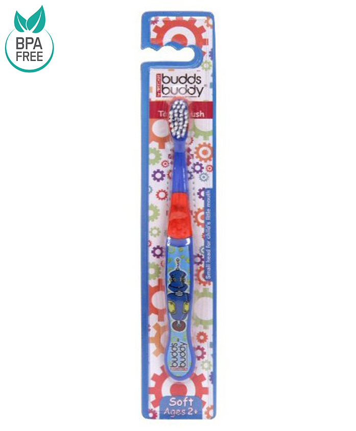 Buddsbuddy Kids Toothbrush - Blue