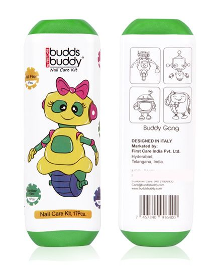 Buddsbuddy 17 Pieces Nail Care Kit - Green