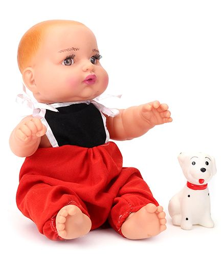 Speedage Sunny Baba Doll Red and Black - Height 21 cm