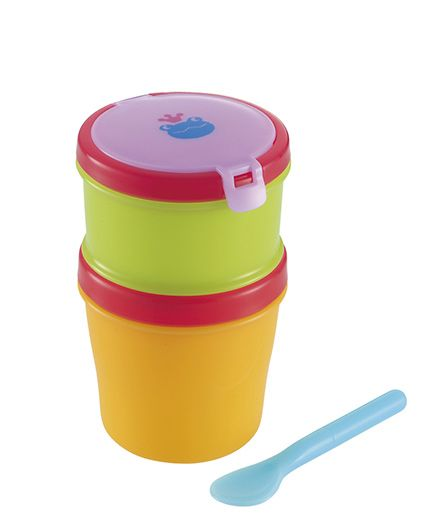 Richell Baby Lunch Box-Cool - Multi Color