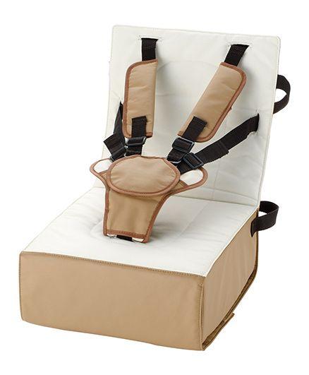 Richell Baby Booster Cushion Chair - Brown