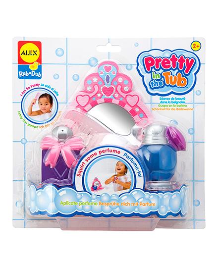 Alex Toys Rub A Dub Pretty In The Tub Bath Toys - Multi Color