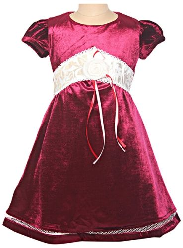 Bambini - Short Sleeves Party Frock