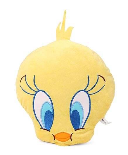 Starwalk Tweety Face Plush Soft Toy - Height 30 cm