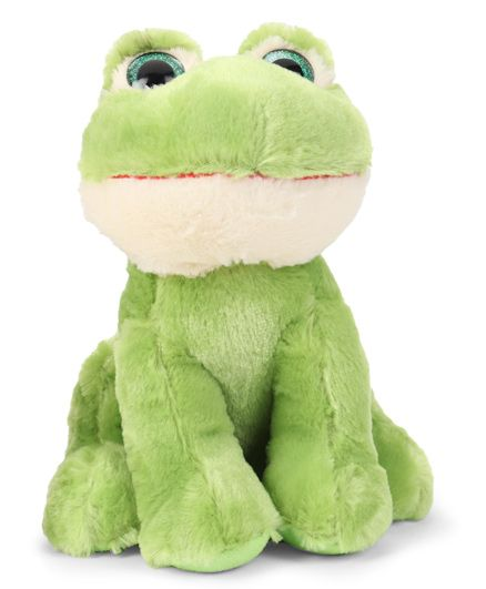 Starwalk Frog Plush Soft Toy Green - Height 24 cm