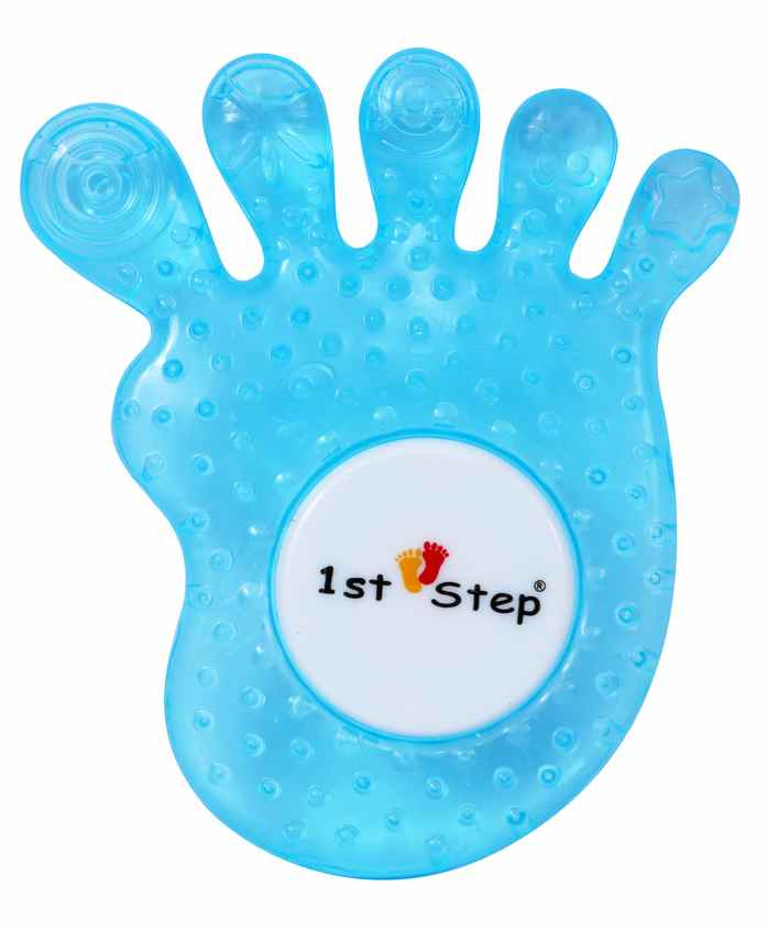 1st Step Water Filled Teether Funny Shape - Blue