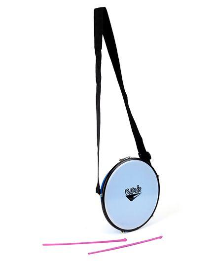 Ratnas Musical Instrument Tasha Drum - Blue And Pink