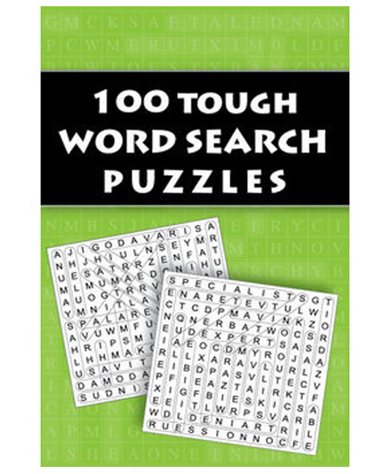 100 Tough Word Search Puzzles - English