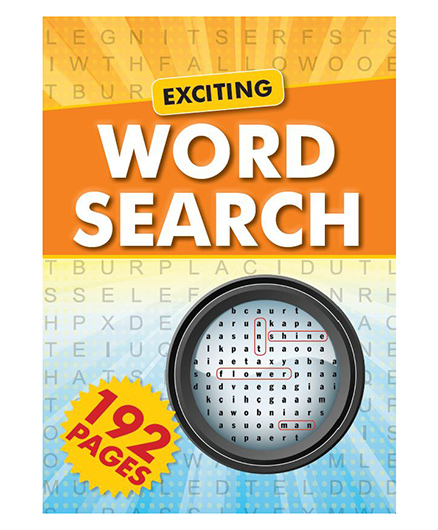 Exciting Word Search - English