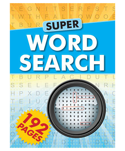 Super Word Search - English