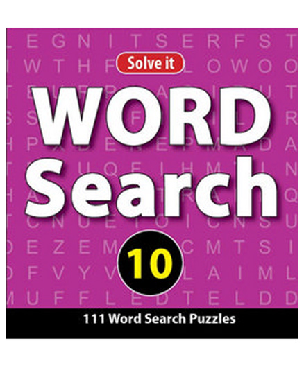 Word Search Puzzles Book 10 - English