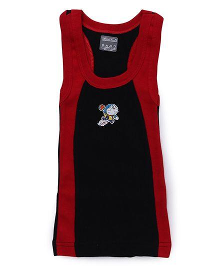 Doraemon Sleeveless Vest - Blue Red (Print May Vary)