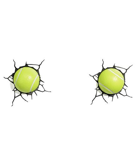 3d Lights Tennis Ball 3D Deco Lights - Green