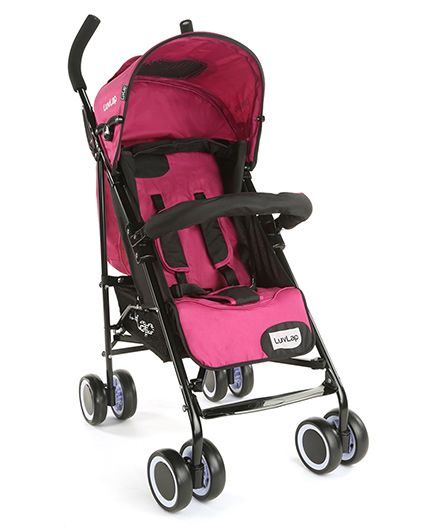 LuvLap City Baby Stroller Buggy - Pink