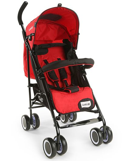 LuvLap City Baby Stroller Buggy - Red