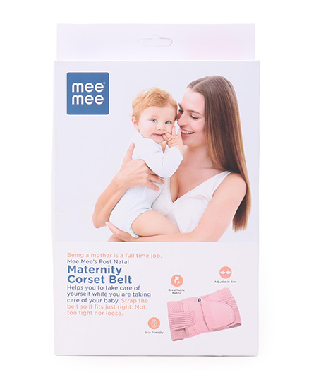Mee Mee Post Natal Maternity Corset Belt - Pink