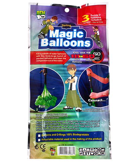 Ben 10 Magic Balloon Bunch Multi Color - 111 Pieces (color may Vary)