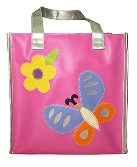Kidzbash Hand Bag Butterfly Patch - Pink