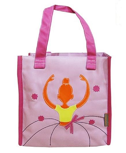 Kidzbash Hand Bag Ballerina Patch - Pink