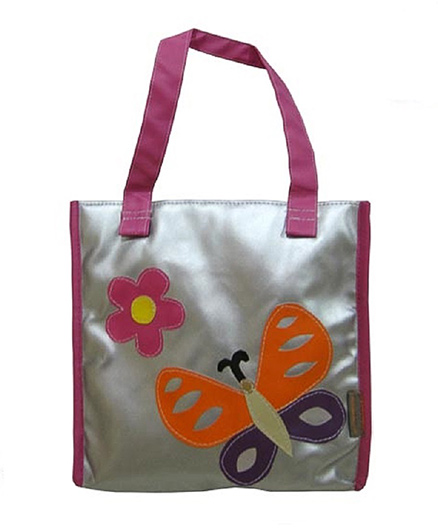 Kidzbash Hand Bag Butterfly Patch - Silver
