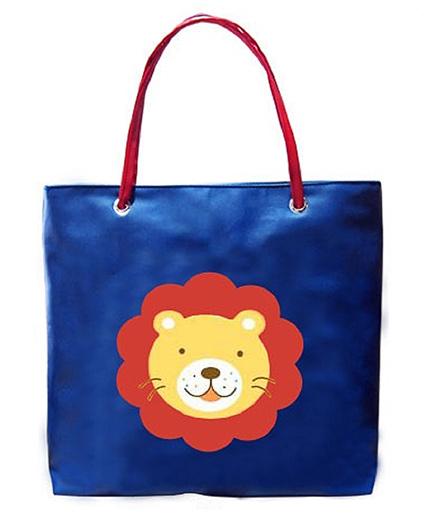 Kidzbash Hand Bag Lion Patch - Blue
