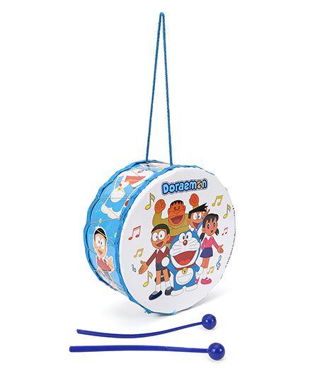 Doraemon Toy Drum - Blue