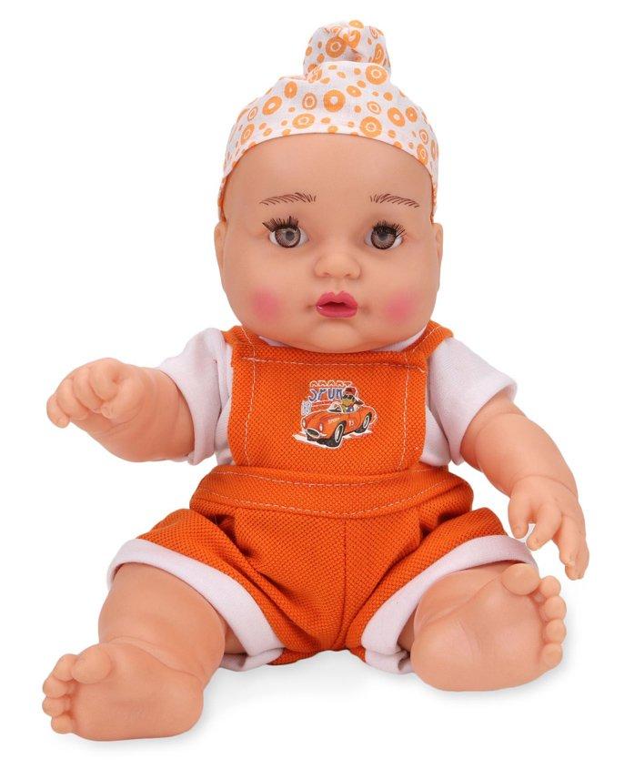 Speedage Happy Singh Junior Doll Orange - 25 cm
