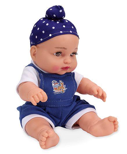 Speedage Happy Singh Junior Doll Blue - Height 23 cm