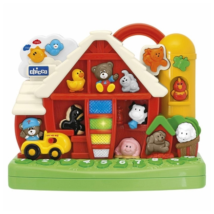 Chicco  -  Talking Farm 1 Year+, Bilingual And Interactive Toy That Teaches ...
