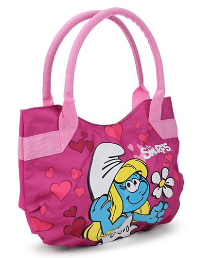 Smurfs Fashion Handbag - Pink