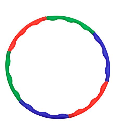 GSI Lightweight Collapsible Hula Hoop 6 Rods - Multicolor
