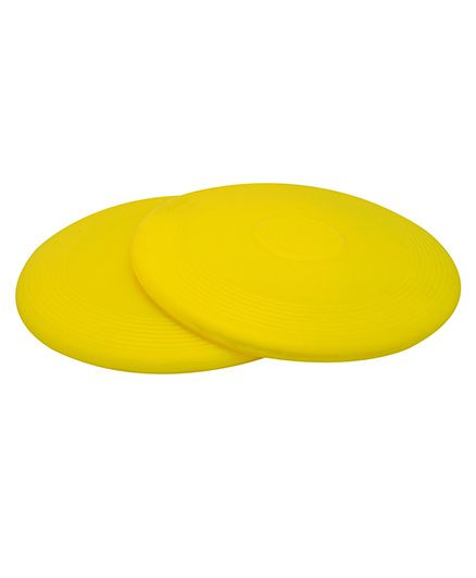 GSI Flying Discs Frisbees Pack Of 2�- Yellow