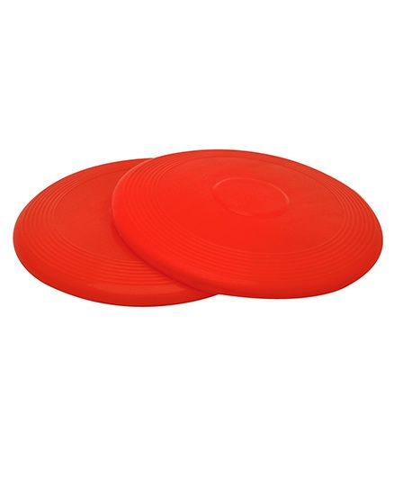 GSI Flying Discs Frisbees Pack Of 2 - Red