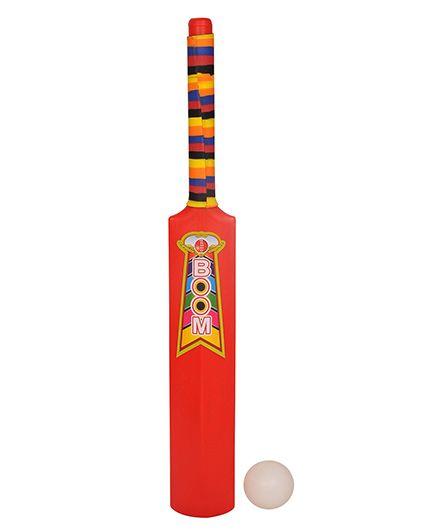 GSI Kids Bat Ball Cricket Set - Red