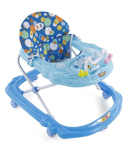 Musical Baby Walker - Sky Blue