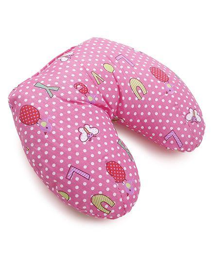 Owen Neck Pillow - Pink