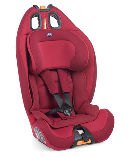Chicco Gro-Up 123 Baby Forward Facing Car Seat Red Passion