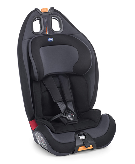 Chicco Gro-Up 123 Baby Forward Facing Car Seat Black Night
