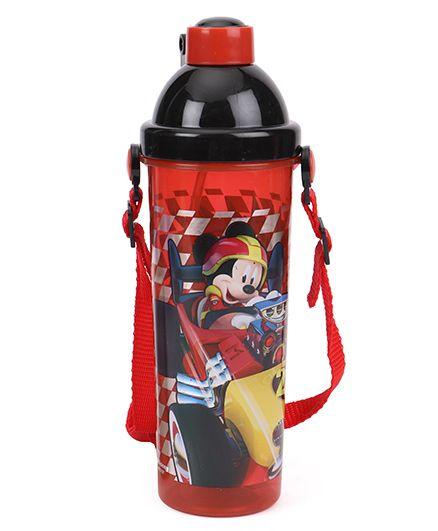 Disney Mickey Mouse & Friends Sipper Bottle Red - 400 ml