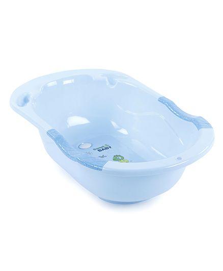 Baby Bath Tub Dino Print - Blue