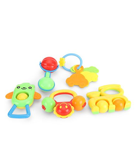 Smile Creation Rattle Pack Of 5