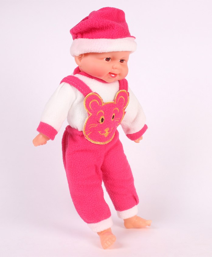Smiles Creation Baby Doll Dark Pink - 36 cm