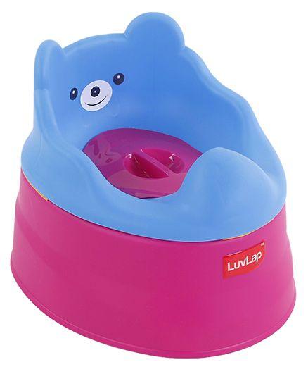 Luv Lap Baby Potty Chair - Dark Pink Blue