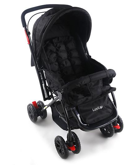 Luv Lap Starshine Baby Stroller Black - 18305