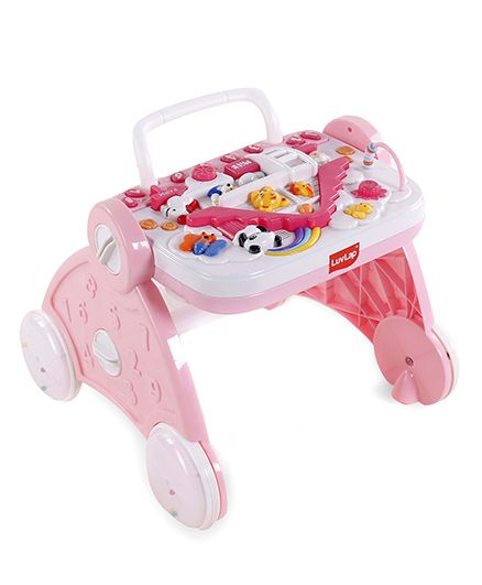 Luv Lap Baby Musical Activity Walker - Pink
