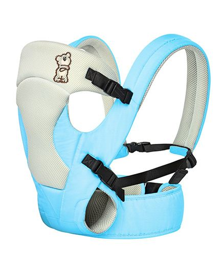 R for Rabbit New Cuddle Snuggle 3 Way Comfortable Baby Carrier - Blue & Grey