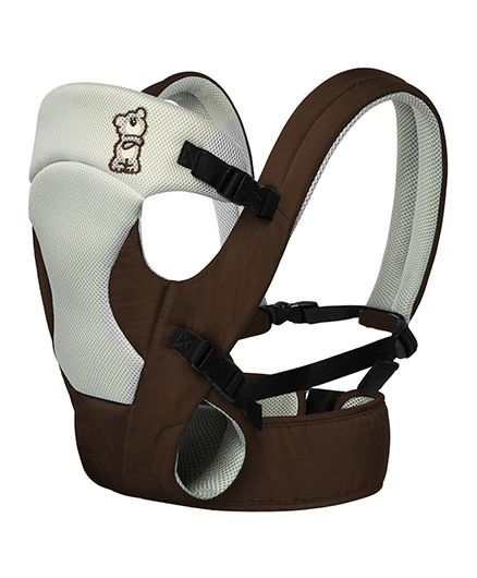 R for Rabbit New Cuddle Snuggle 3 Way Comfortable Baby Carrier - Brown & Grey