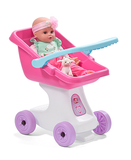 Step2 Love And Care Doll Stroller - Pink Purple