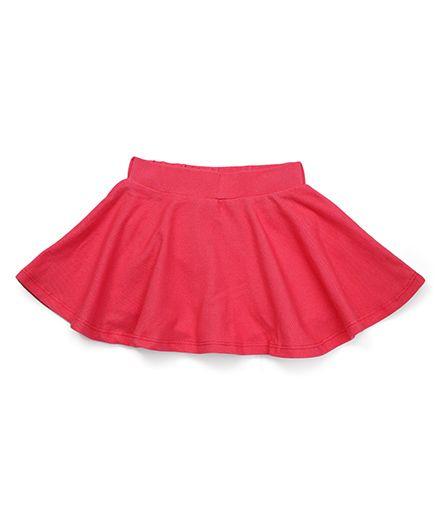 Fox Baby Divider Skirt - Light Red