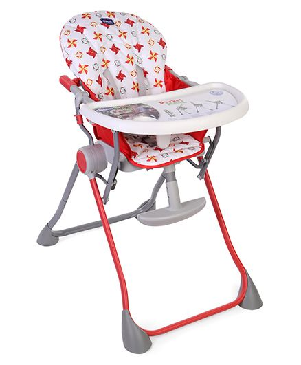 Chicco Pocket Meal High Chair - Red
